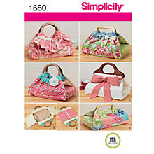 Buy Simplicity Casserole & Dish Carriers Sewing Leaflet, 1680 Online at johnlewis.com