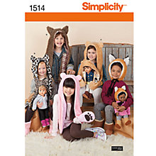 Buy Simplicity Hats Sewing Leaflet, 1514, A Online at johnlewis.com