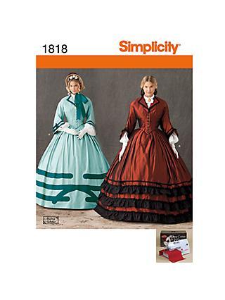 Simplicity Costume Dressmaking Leaflet 37b9b1957