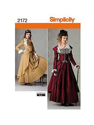 Simplicity Costume Dressmaking Leaflet 47f08b5e4