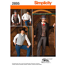 Buy Simplicity Costumes Sewing Leaflet, 2895 Online at johnlewis.com