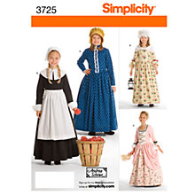 Buy Simplicity Girls' Costume Sewing Pattern, 3725 Online at johnlewis.com