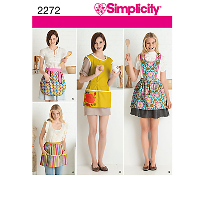 Simplicity Aprons Sewing Pattern 2272