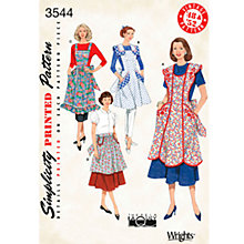 Buy Simplicity Craft Sewing Pattern, 3544, A Online at johnlewis.com