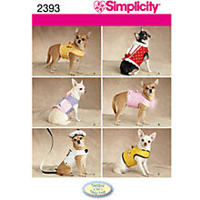 Buy Simplicity Craft Sewing Pattern, 2393 Online at johnlewis.com
