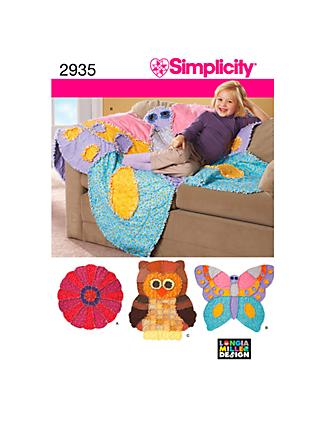 Simplicity Craft Sewing Pattern, 2935