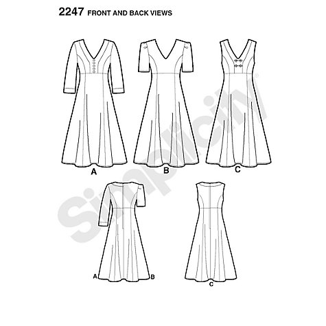 Buy Simplicity Amazing Fit Women's Dress Sewing Pattern