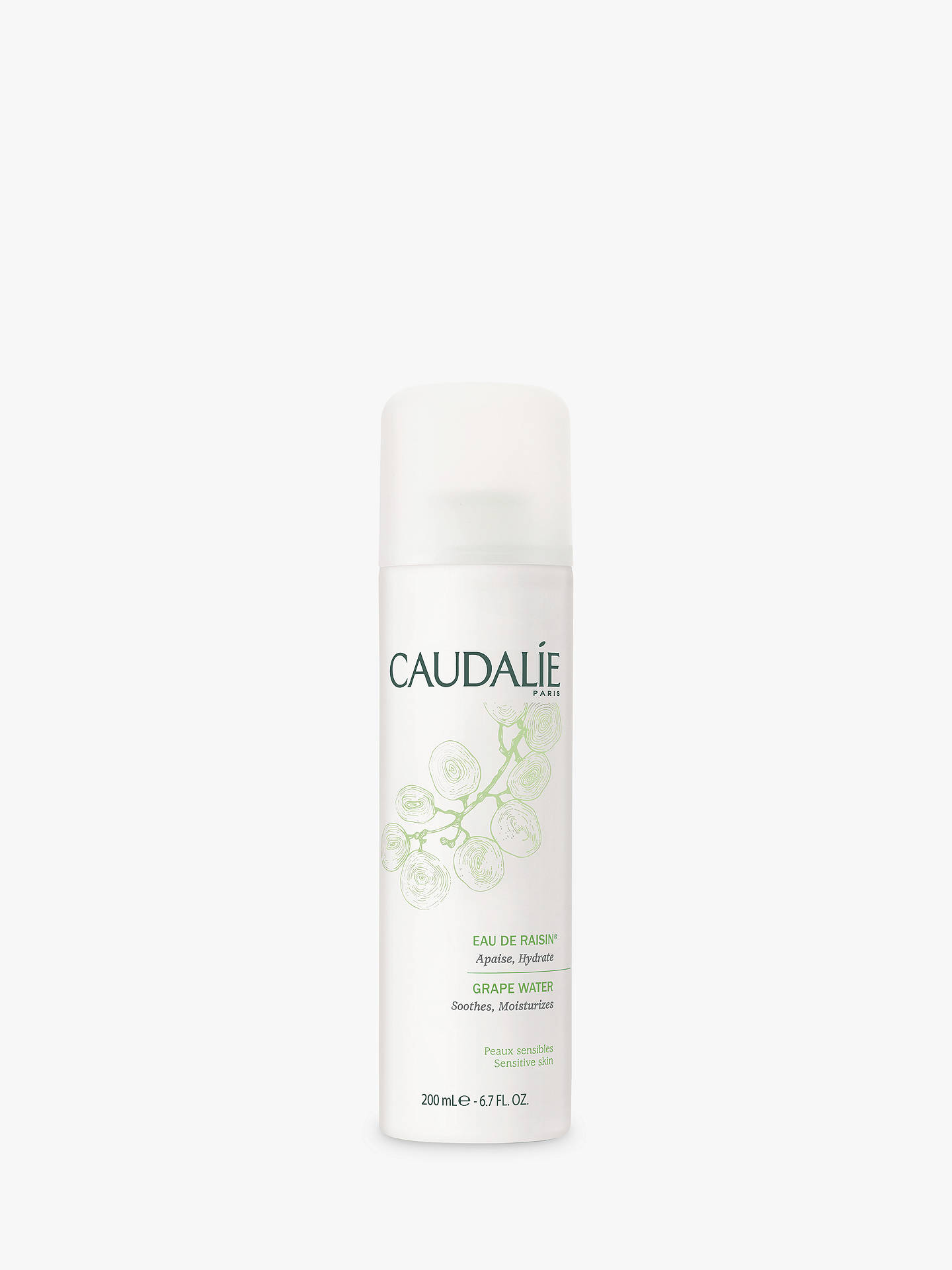 BuyCaudalie Organic Grape Water Mist, 200ml Online at johnlewis.com