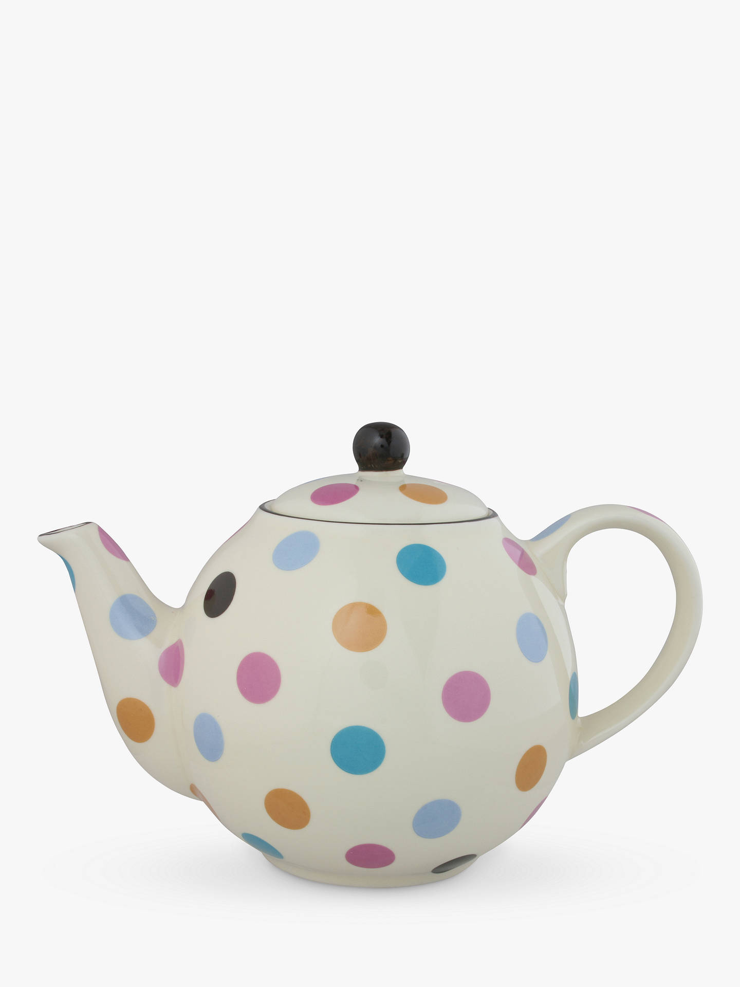 Buy London Pottery Spot 4 Cup Teapot, Multi Online at johnlewis.com