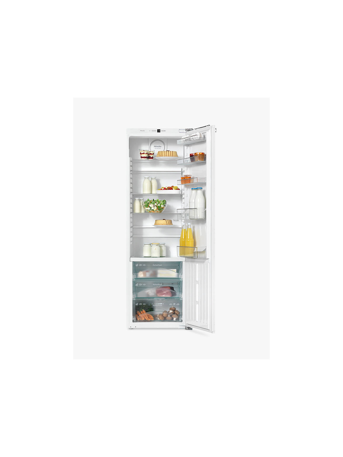 BuyMiele K37272iD Tall Integrated Larder Fridge, A++ Energy Rating, 56-57cm Wide Online at johnlewis.com