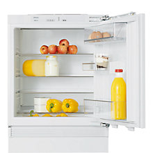 Buy Miele K9122 UI Integrated Undercounter Larder Fridge, A+ Energy Rating, 60cm Wide Online at johnlewis.com