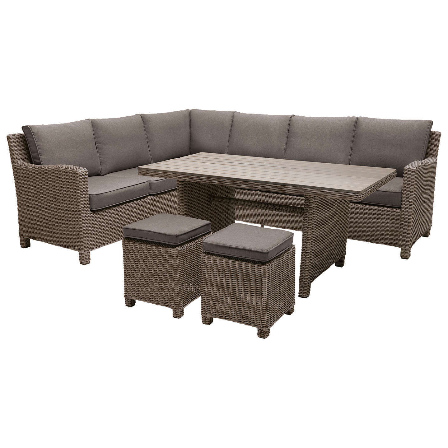 Garden Table And Chairs Set John Lewis: KETTLER Palma 8 Seater Garden Corner Lounging Table And