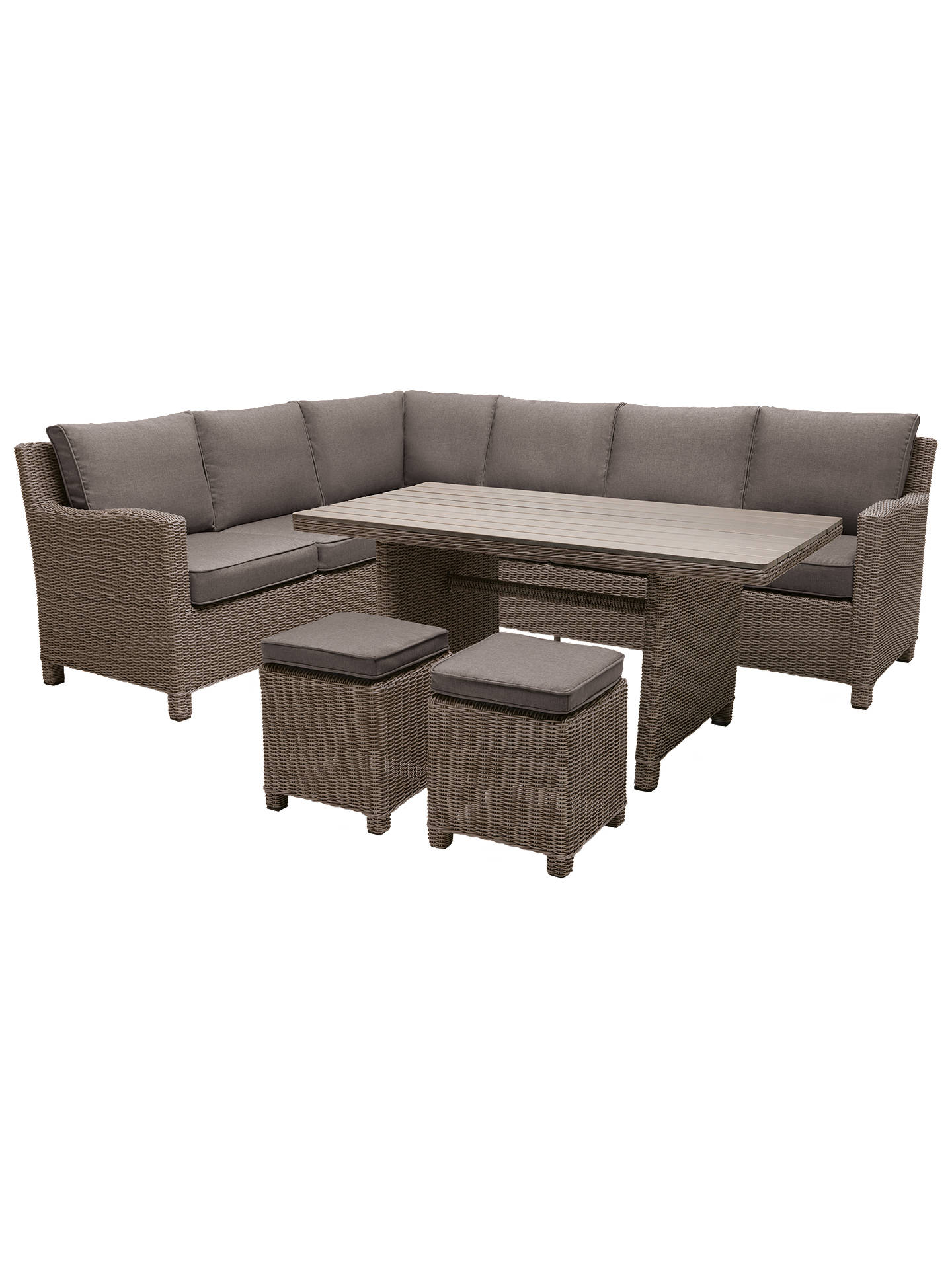 Kettler Palma 8 Seater Garden Corner Lounging Table And