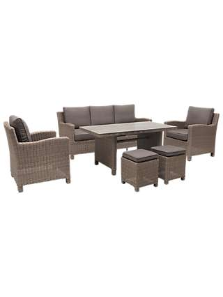 Swell Kettler Palma 7 Seater Garden Lounging Set At John Lewis Gmtry Best Dining Table And Chair Ideas Images Gmtryco
