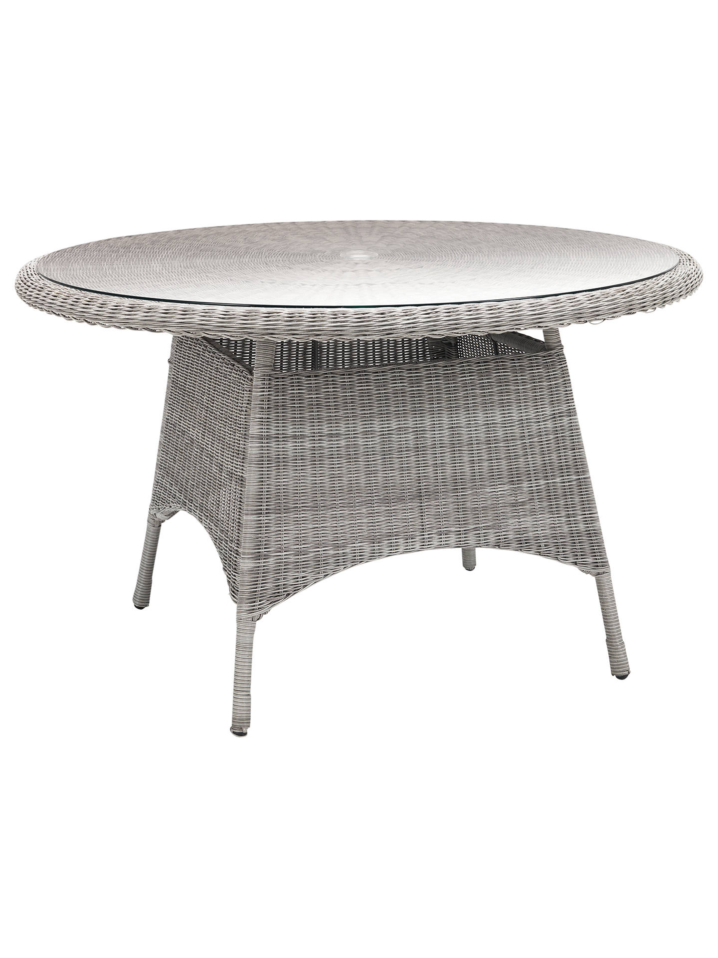 Synthetic Wicker Outdoor Dining Table