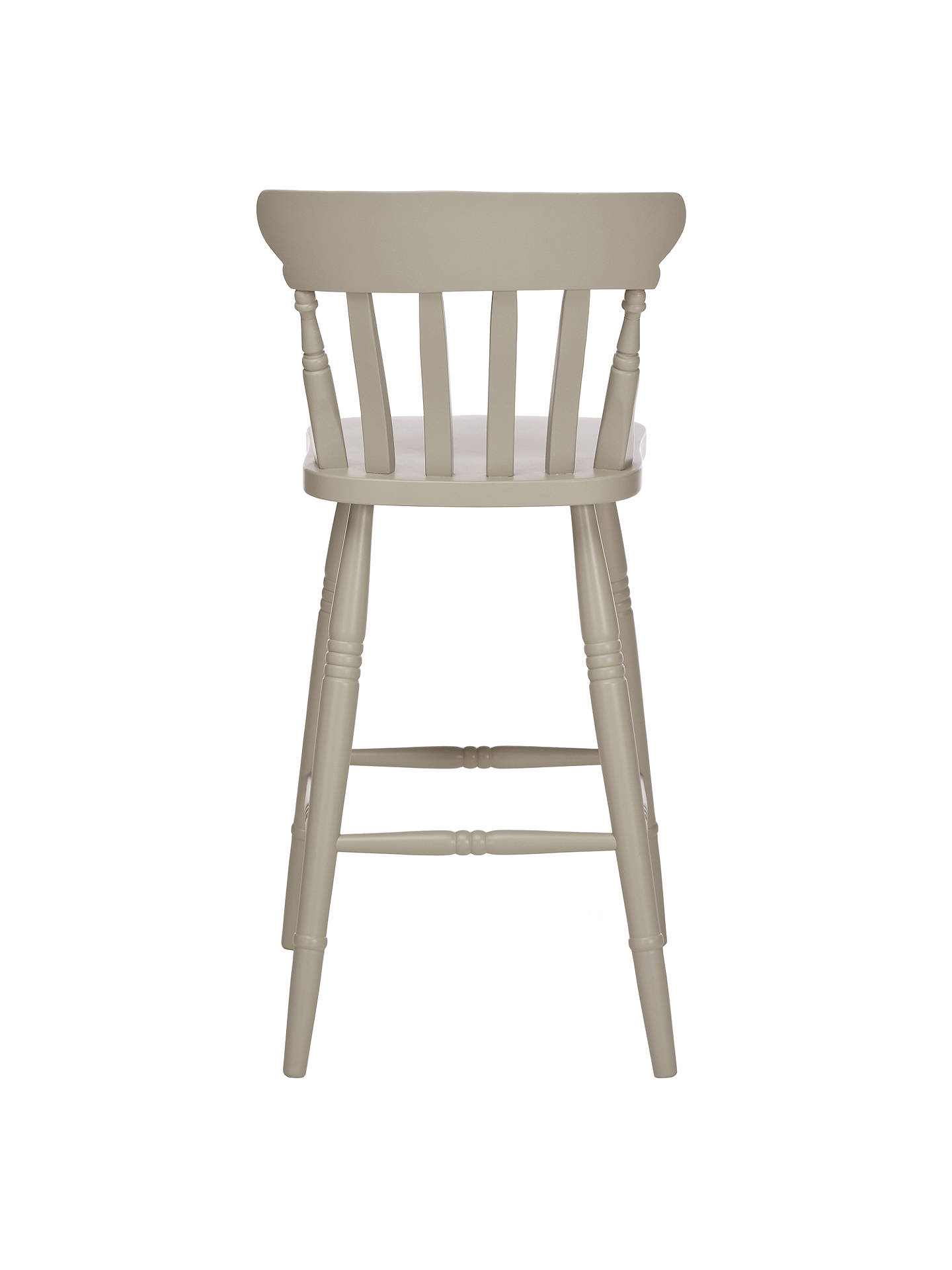Buy John Lewis Croft Collection Cecile Bar Chair, Soft Grey Online at johnlewis.com