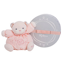 Buy Kaloo Perle Small Chubby Bear, Pink Online at johnlewis.com
