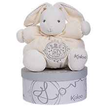 Buy Kaloo Perle Rabbit Plush, Cream, Medium Online at johnlewis.com