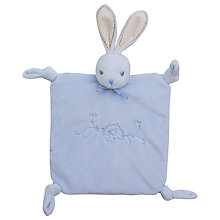 Buy Kaloo Perle Rabbit Doudou, Blue Online at johnlewis.com