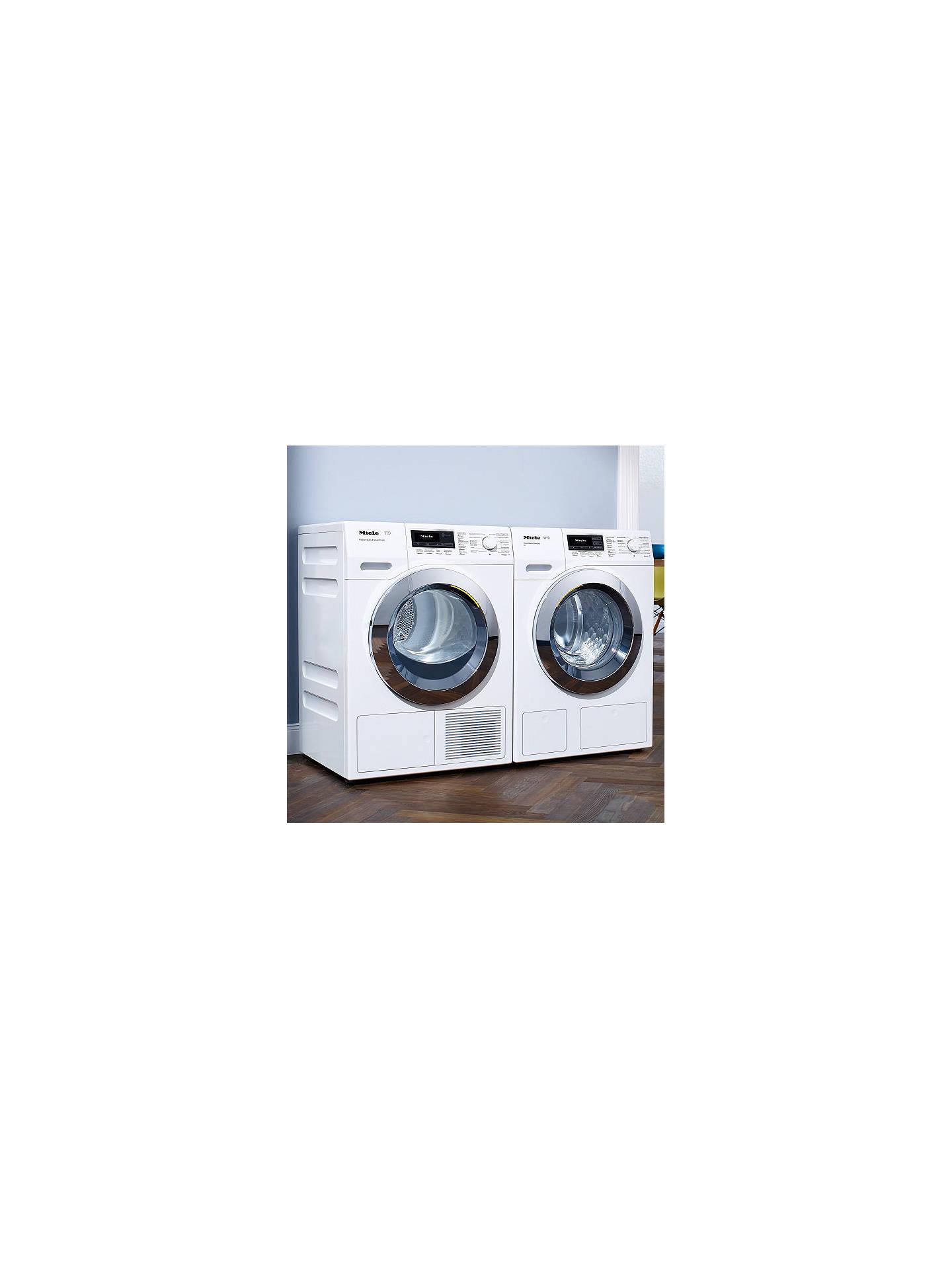 miele wkh 120 wps freestanding washing machine 8kg load. Black Bedroom Furniture Sets. Home Design Ideas