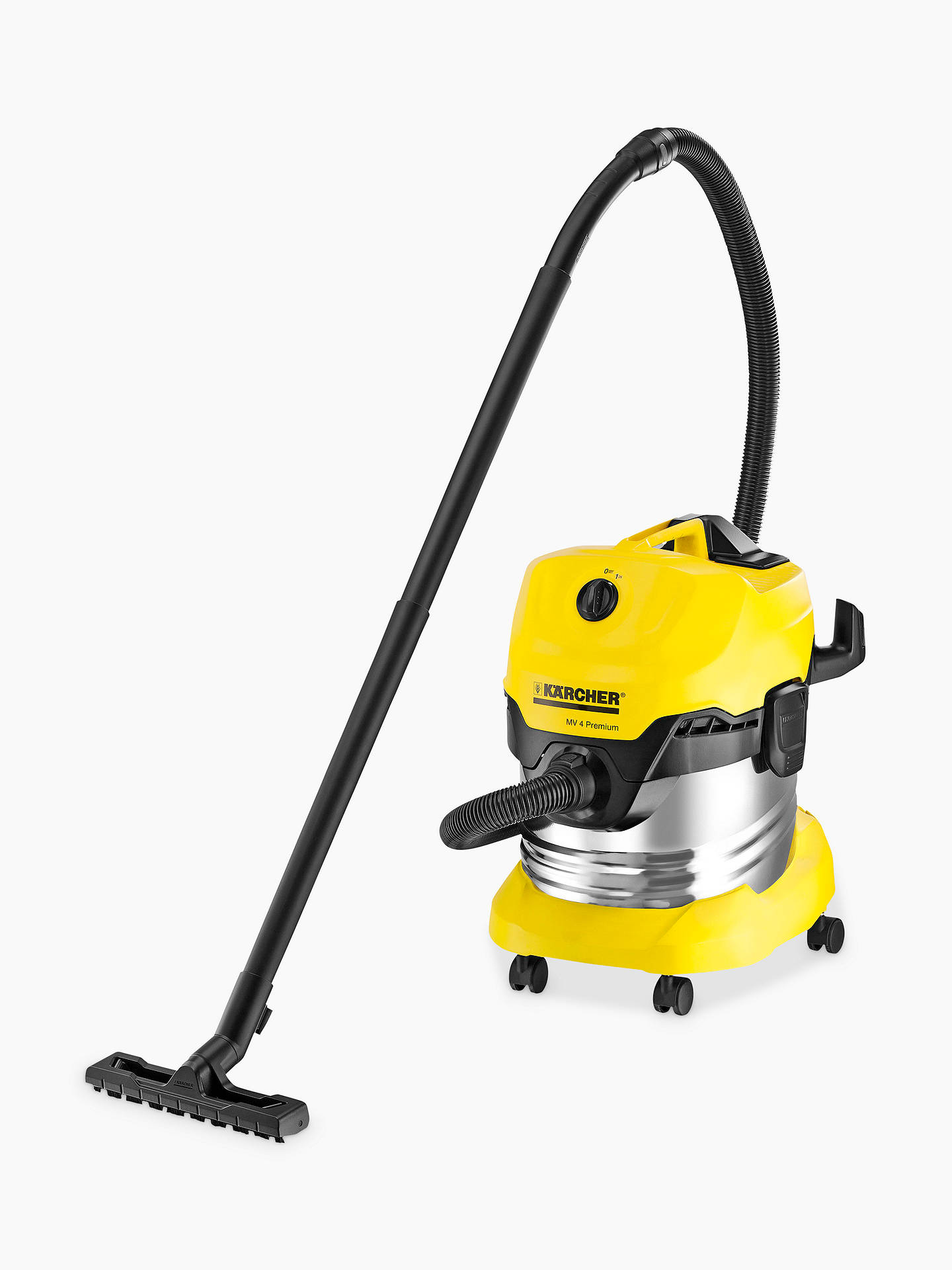 BuyKärcher WD4 Premium Wet and Dry Vacuum Cleaner Online at johnlewis.com