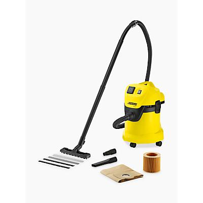 Image of Karcher WD 3 P Wet & Dry Vacuum Cleaner 240v