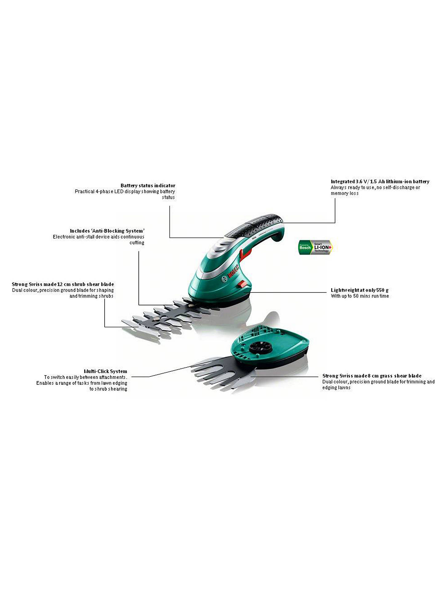 BuyBosch Isio Shape and Edge Set Online at johnlewis.com