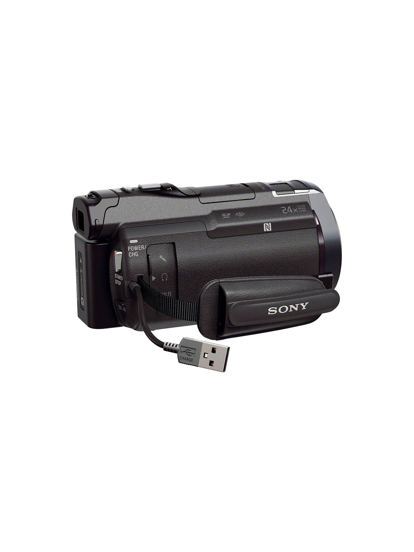 Sony Hdr Pj810e Hd 1080p Camcorder 245mp 12x Optical Zoom Ois Pj810 Handycam Buysony