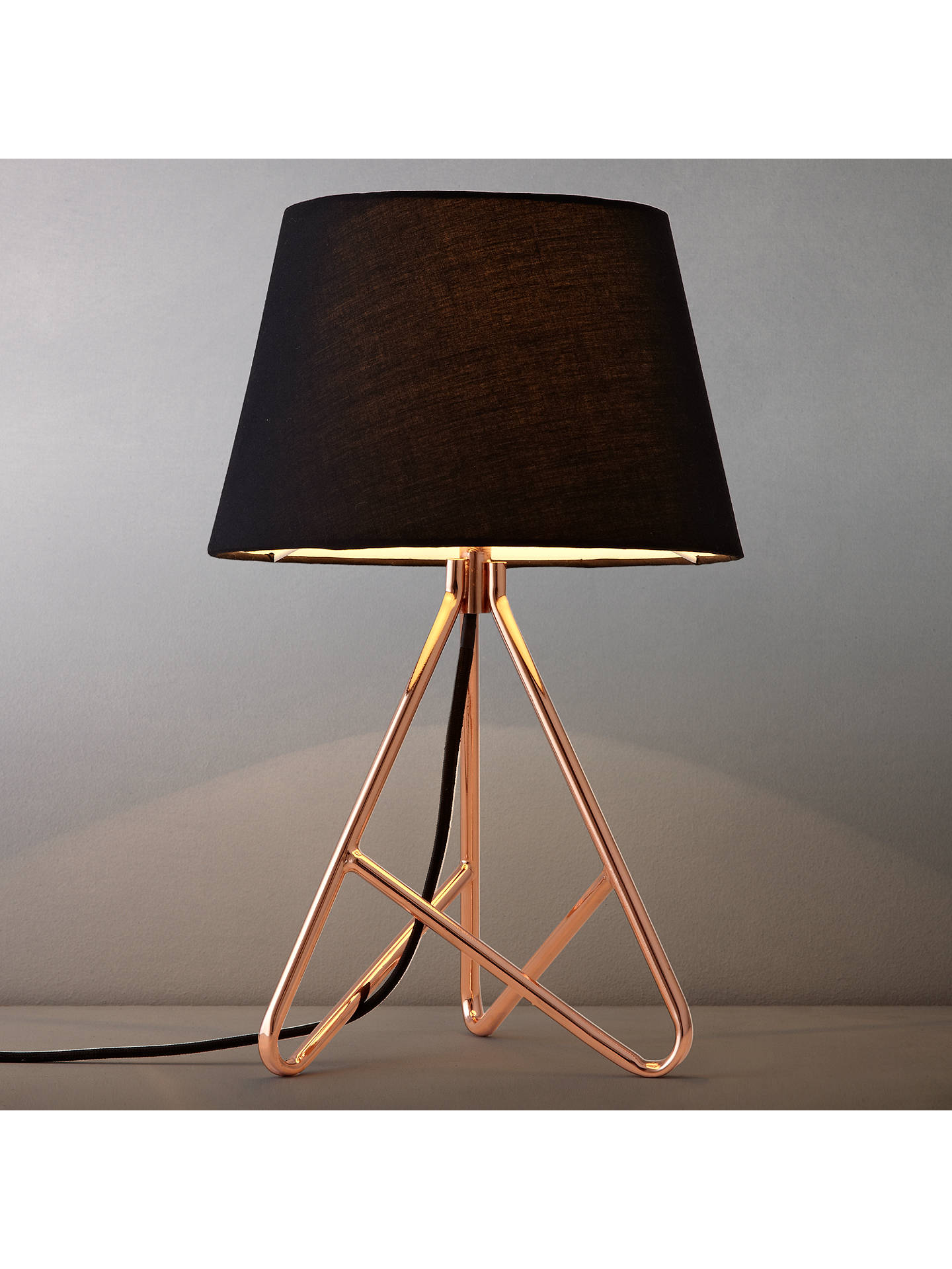 John Lewis Partners Albus Twisted Table Lamp At John Lewis Partners