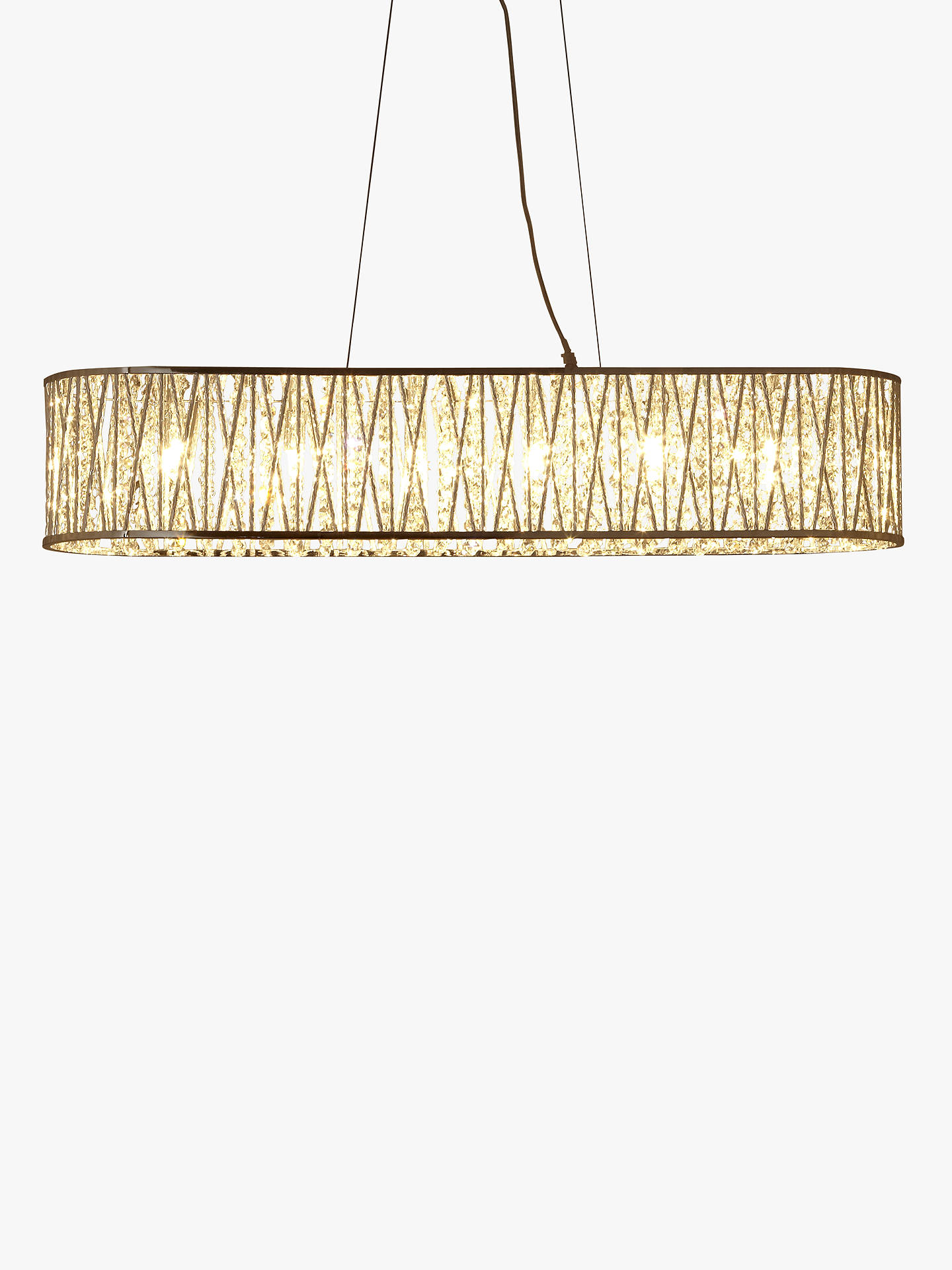 Buy John Lewis & Partners Emilia Jazzy Diner Bar Ceiling Light Online at johnlewis.com