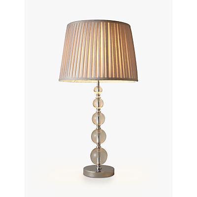 Product photo of John lewis lavinia large glass table lamp