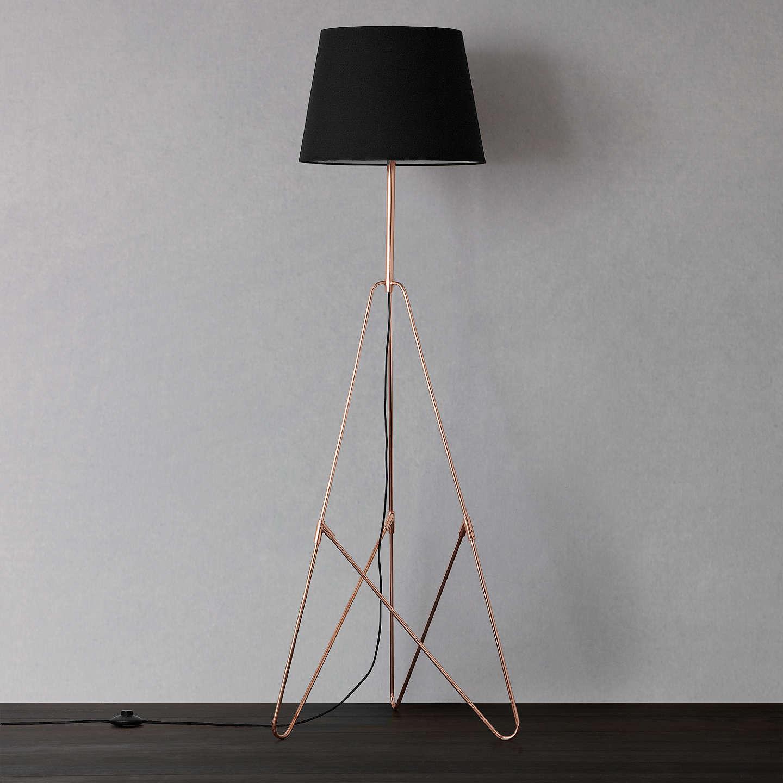John lewis albus floor lamp at john lewis for Copper floor lamp john lewis