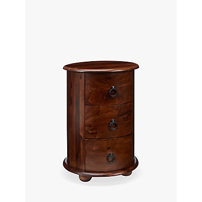 John Lewis & Partners Maharani Drum Side Table