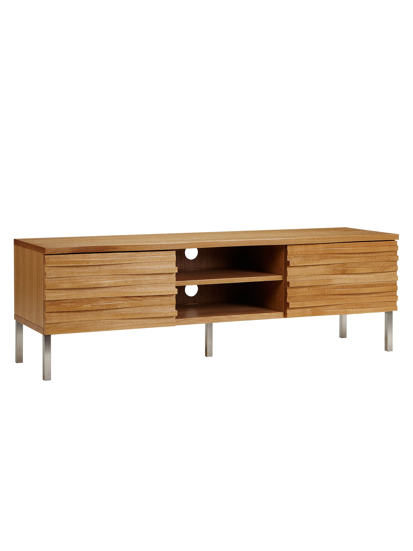 Content By Terence Conran Wave Tv Stand Oak Online At Johnlewis