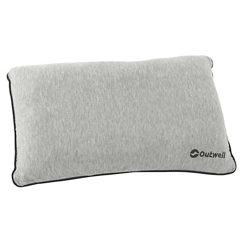 Buy Outwell Memory Pillow, Grey Online at johnlewis.com