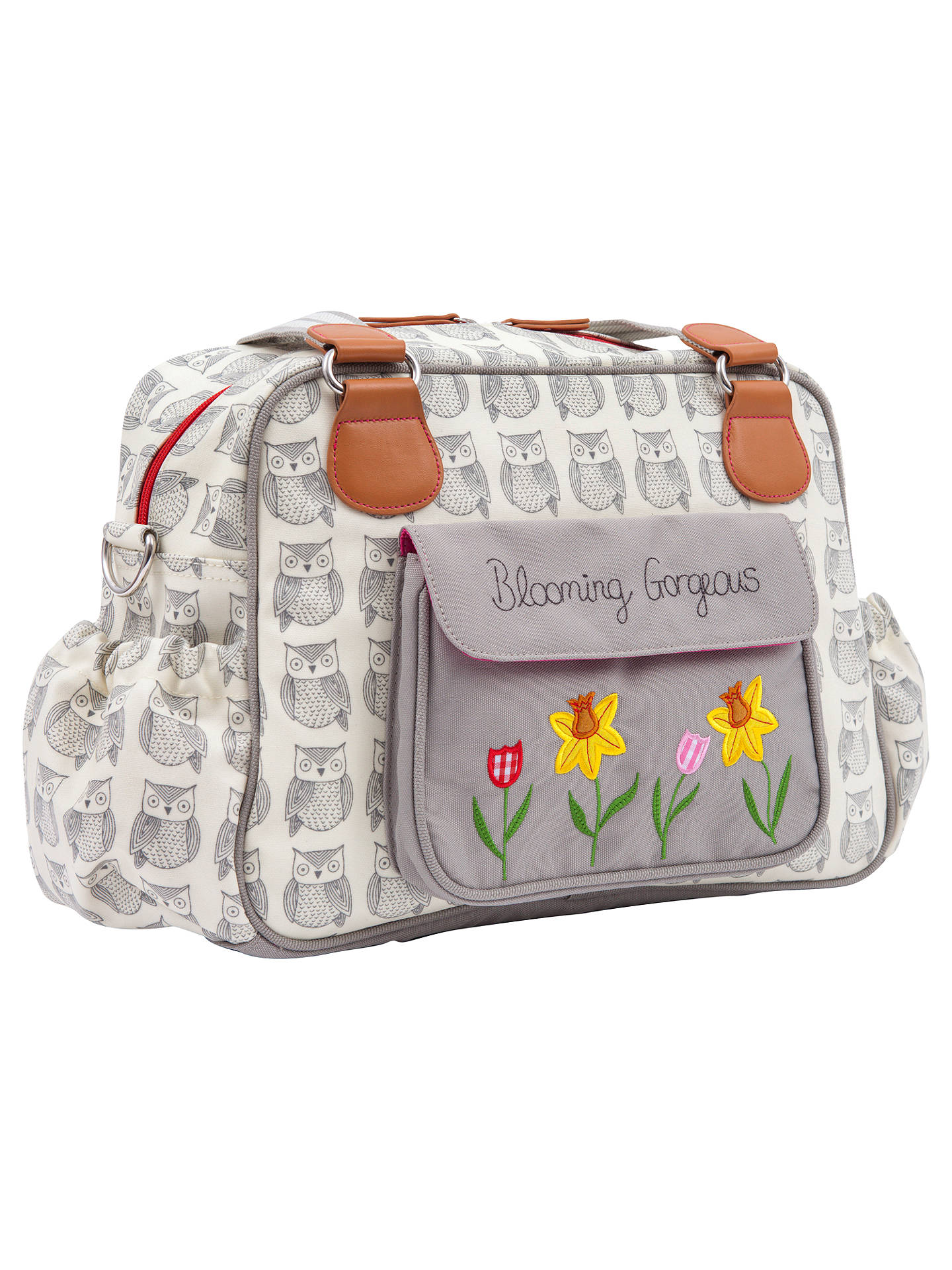 Buy Pink Lining Blooming Gorgeous Changing Bag, Wise Owl Online at johnlewis.com