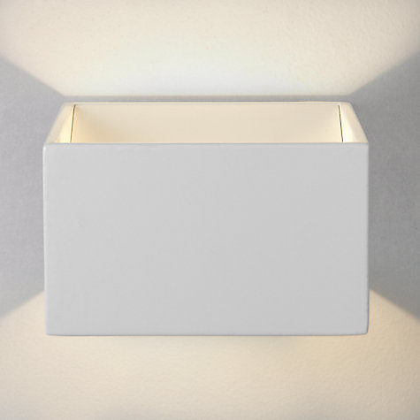 Bathroom Mirror Lights John Lewis buy john lewis vector led square cube wall light | john lewis