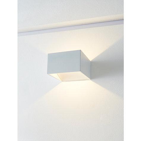 Buy john lewis vector led uplighter cube wall light white john lewis buy john lewis vector led uplighter cube wall light white online at johnlewis aloadofball Choice Image