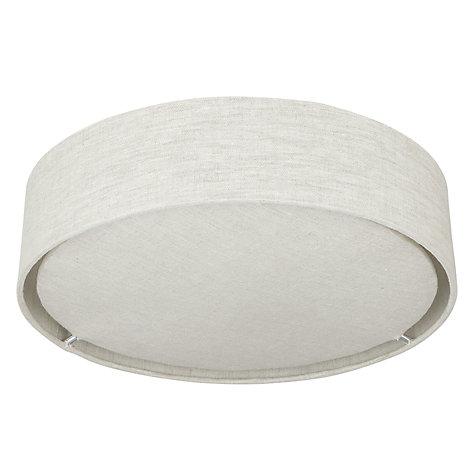 Buy john lewis samantha linen flush ceiling light john lewis buy john lewis samantha linen flush ceiling light online at johnlewis aloadofball Images