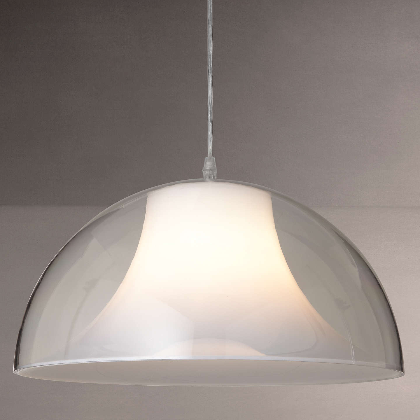 inch edison sleek lighting dome pendant industville pewter copper light so lt products