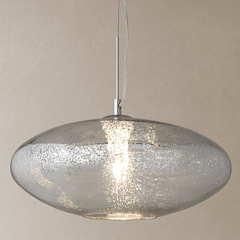 Buy john lewis tabitha mercury glass pendant john lewis for Kitchen lighting ideas john lewis
