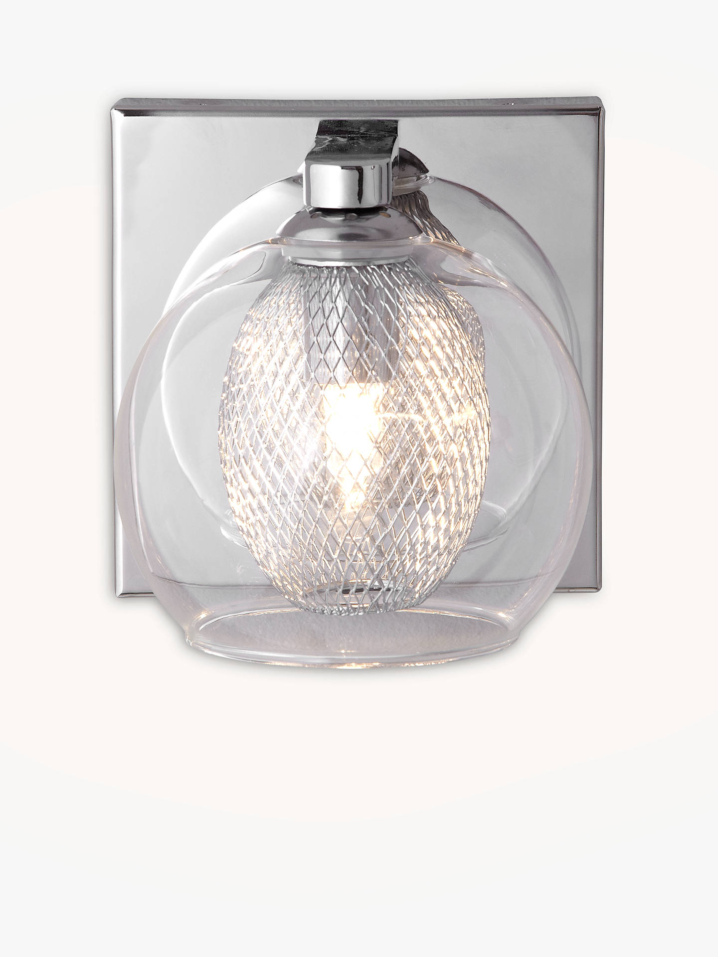Buy John Lewis & Partners Knightley Mesh Net Wall Light Online at johnlewis.com