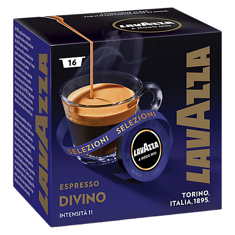 Buy Lavazza Divino A Modo Mio Espresso Capsules, Pack of 16 Online at johnlewis.com