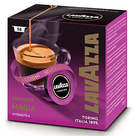 Buy Lavazza Magia A Modo Mio Espresso Capsules, Pack of 16 Online at johnlewis.com
