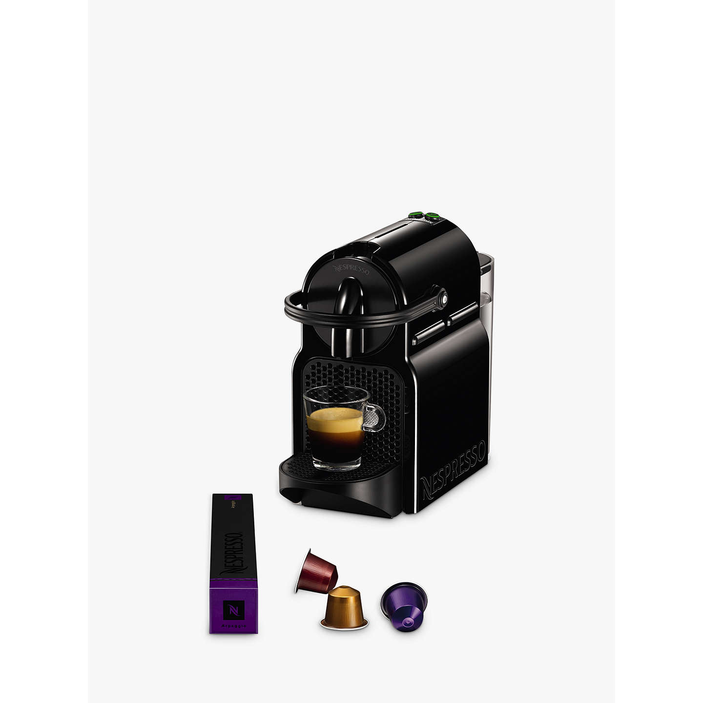 nespresso inissia coffee machine by magimix at john lewis. Black Bedroom Furniture Sets. Home Design Ideas