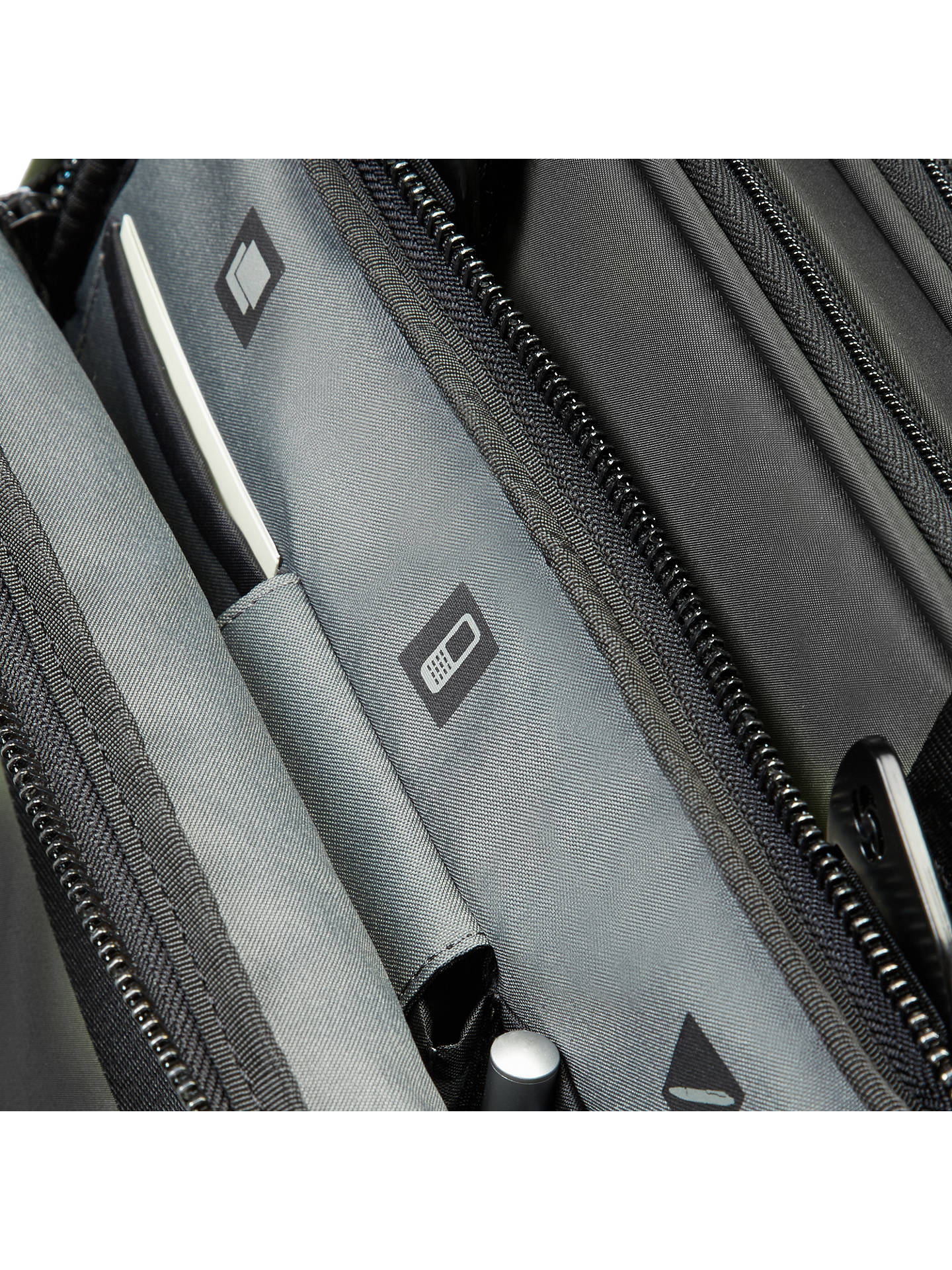 "BuySamsonite CityVibe 16"" Laptop Bail Handle Briefcase, Black Online at johnlewis.com"