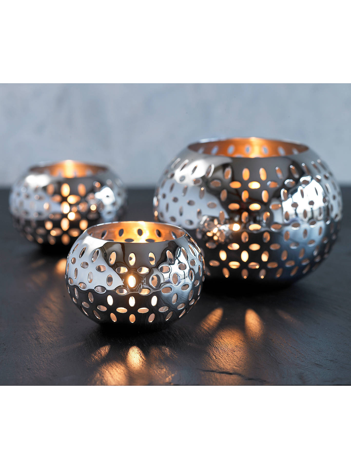 BuyRobert Welch Sesame Tealight Holder Online at johnlewis.com