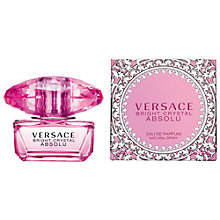 Buy Versace Bright Crystal Absolu Eau de Parfum Online at johnlewis.com