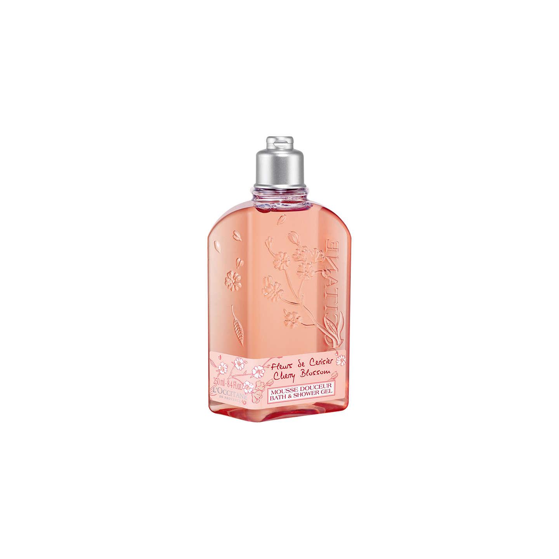 L\'Occitane Cherry Blossom Shower Gel, 250ml at John Lewis