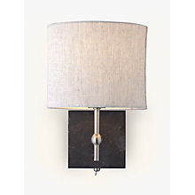 Buy John Lewis Jack Wall Light, Slate Online at johnlewis.com